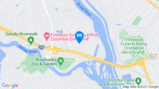 Extended Stay America - Columbia - West - Stoneridge Dr. Map