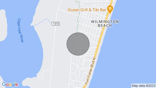 Cozy Beach Walk Suite Map