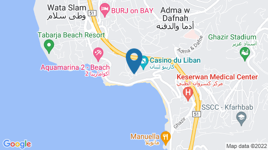 Monte Cassino Boutique Hotel Map