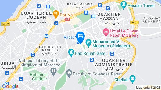 ONOMO Hotel Rabat Terminus Map