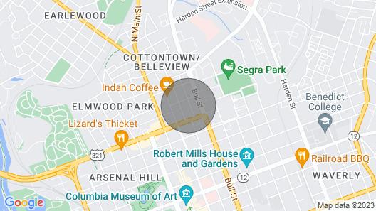Historic Cottontown Bungalow Map