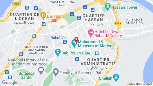 Le Pietri Urban Hotel Map