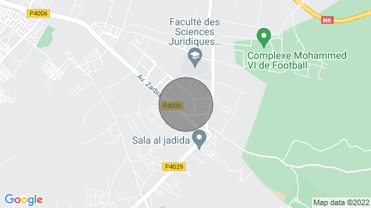 Luxurious apartment with flap with car Map