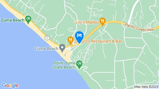 Malibu Country Inn Map