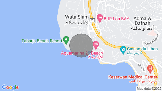 VERMER TABARJA Map