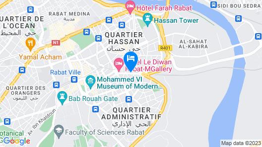 Hotel Annakhil Map