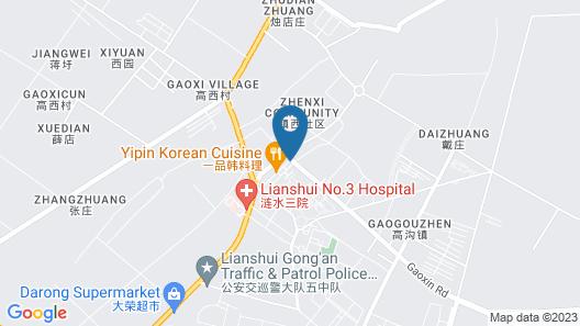 GreenTree Inn Huaian Gaogou Town Fist St Beike Hotel Map