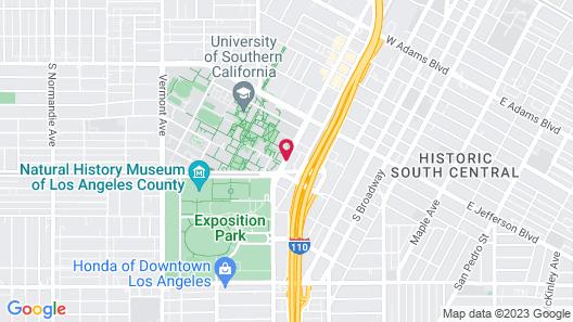 USC Hotel Map