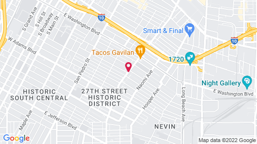 Eastsider Motel Map