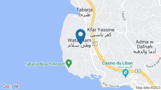 Haya hotel & spa Map