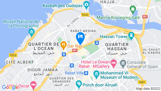 Riad Almazhar Map
