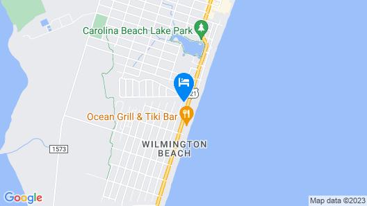 Bowfin #2 - 4 Br Duplex Map