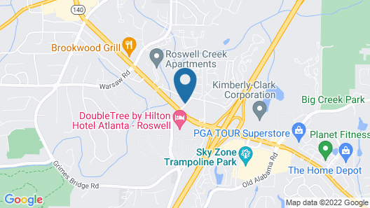 La Quinta Inn & Suites by Wyndham Atlanta Roswell Map