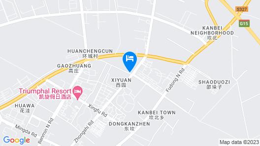 GreenTree Eastern Yancheng Binhai County Oubaoliya Map
