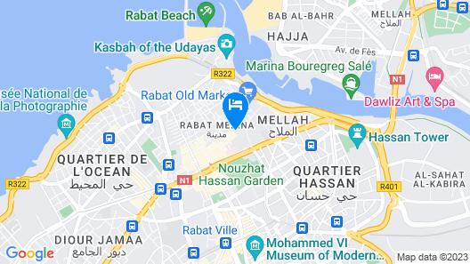 Riad El Maâti Map