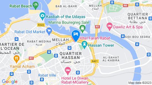 Farah Rabat Map