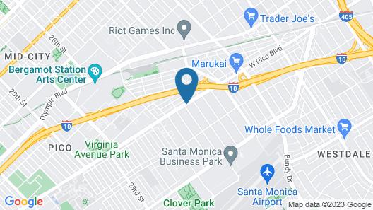 SureStay Hotel by Best Western Santa Monica Map
