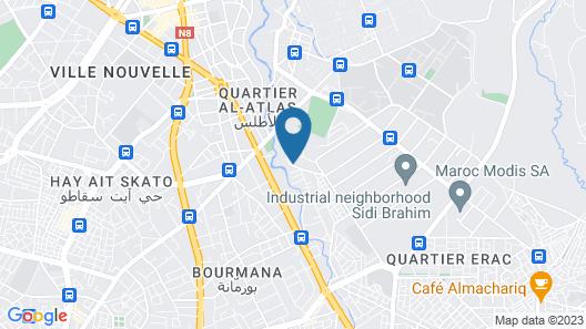 Hôtel Fes Inn & Spa Map
