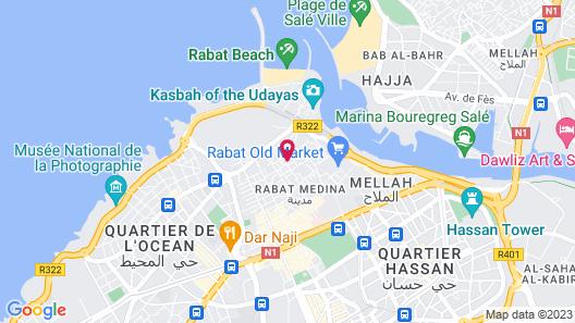Riad Kalaa 2 Map