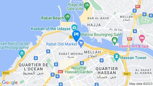 Dar El Kébira Map
