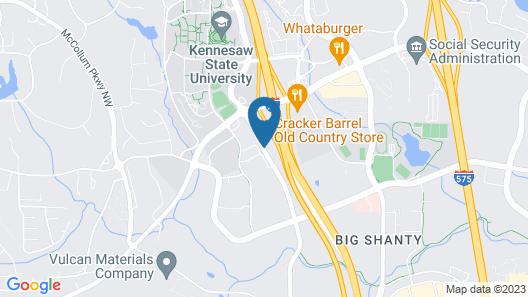 Baymont by Wyndham Kennesaw Map