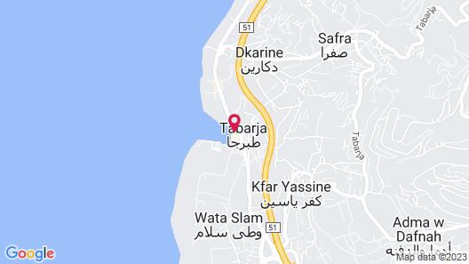 Beit El Bahr Map