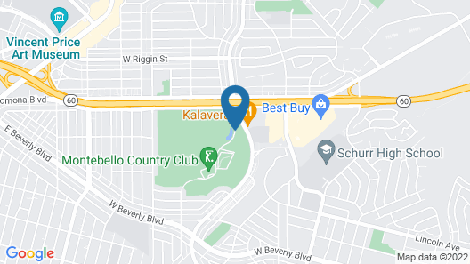 Home2 Suites by Hilton Los Angeles Montebello Map