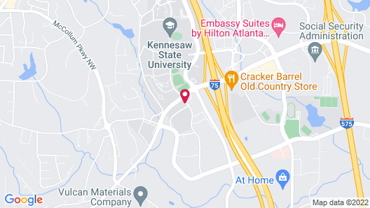 SpringHill Suites by Marriott Atlanta Kennesaw Map