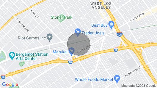 Perfect LA Getaway! Sawtelle- Santa Monica Area Map