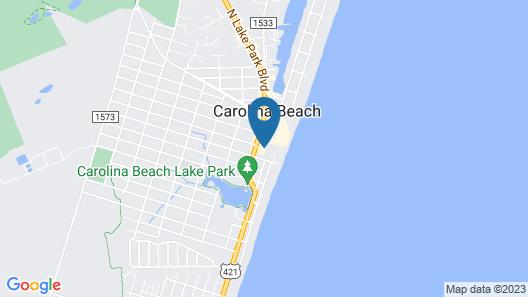 Courtyard by Marriott Carolina Beach Map