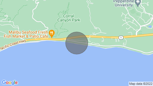 Sunset Malibu Road Premium Ocean Front Penthouse Map