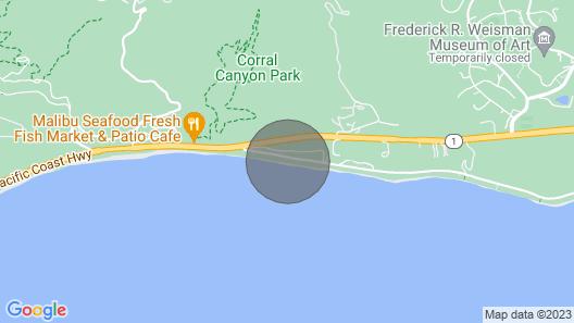 Sunrise Malibu Road Premium Ocean Front Penthouse Map
