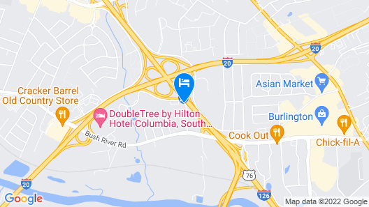 Baymont by Wyndham Columbia Northwest Map