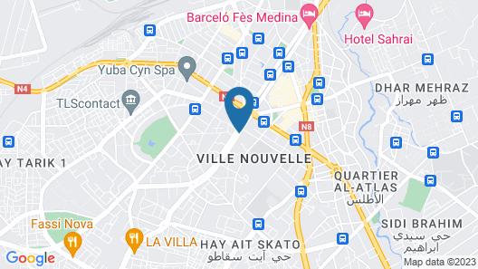 Hôtel Volubilis Map