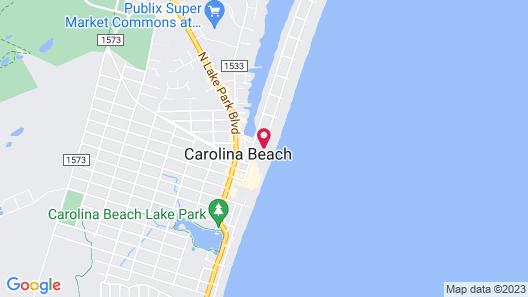 SeaWitch Motel Map