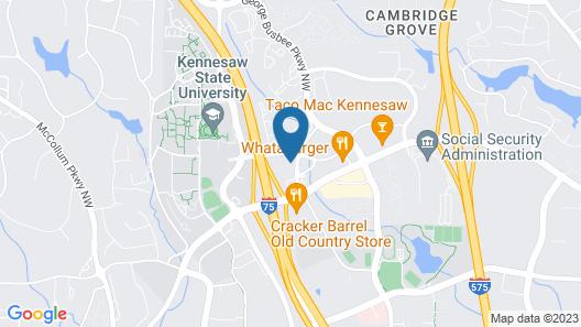 Sonesta ES Suites Atlanta Kennesaw Town Center Map