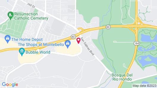 DoubleTree by Hilton Los Angeles - Rosemead Map