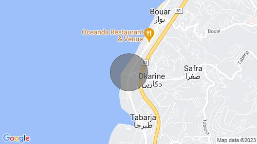 Chalet for Rent in Safra Area Map