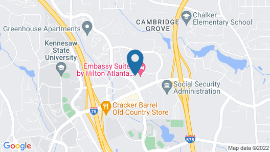 Embassy Suites Atlanta - Kennesaw Town Center Map