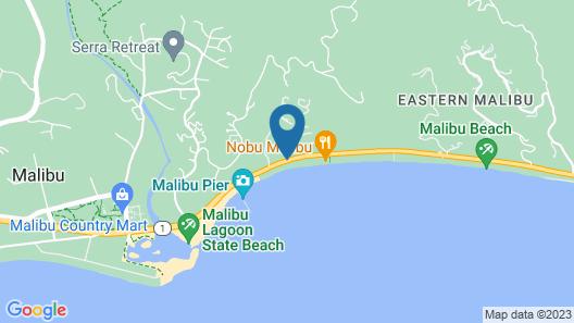 Malibu Beach Paradise Apartments Map