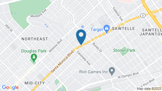 Sonder at FOUND Santa Monica Map