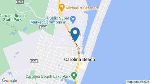 Drifters Reef Hotel Map
