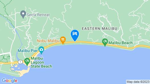 The M Malibu Map