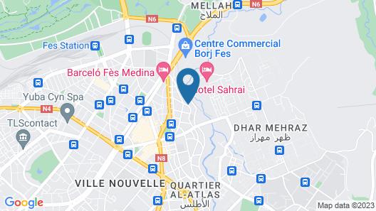 Menzeh Zalagh Map