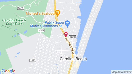 Microtel Inn & Suites by Wyndham Carolina Beach Map