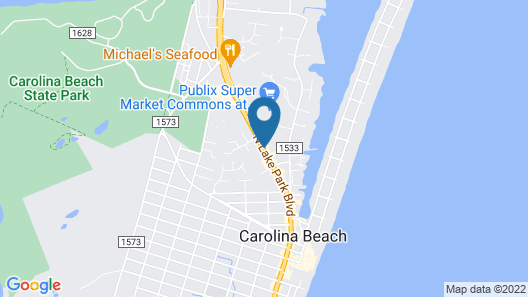 Microtel Inn & Suites by Wyndham Carolina Beach Map