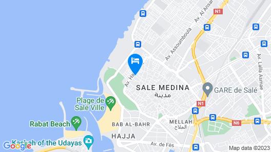 Riad Dar Jabador Map
