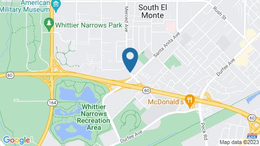 Ramada by Wyndham South El Monte Map