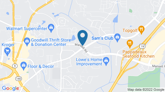 Home2 Suites by Hilton Roswell, GA Map