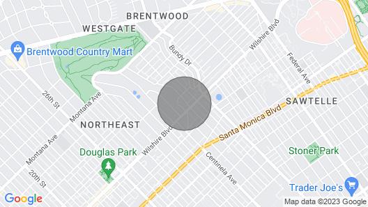 Modern Gem in Desirable Brentwood Neighborhood Map